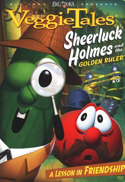 Sheerluck Holmes and the Golden Ruler, VeggieTales DVD