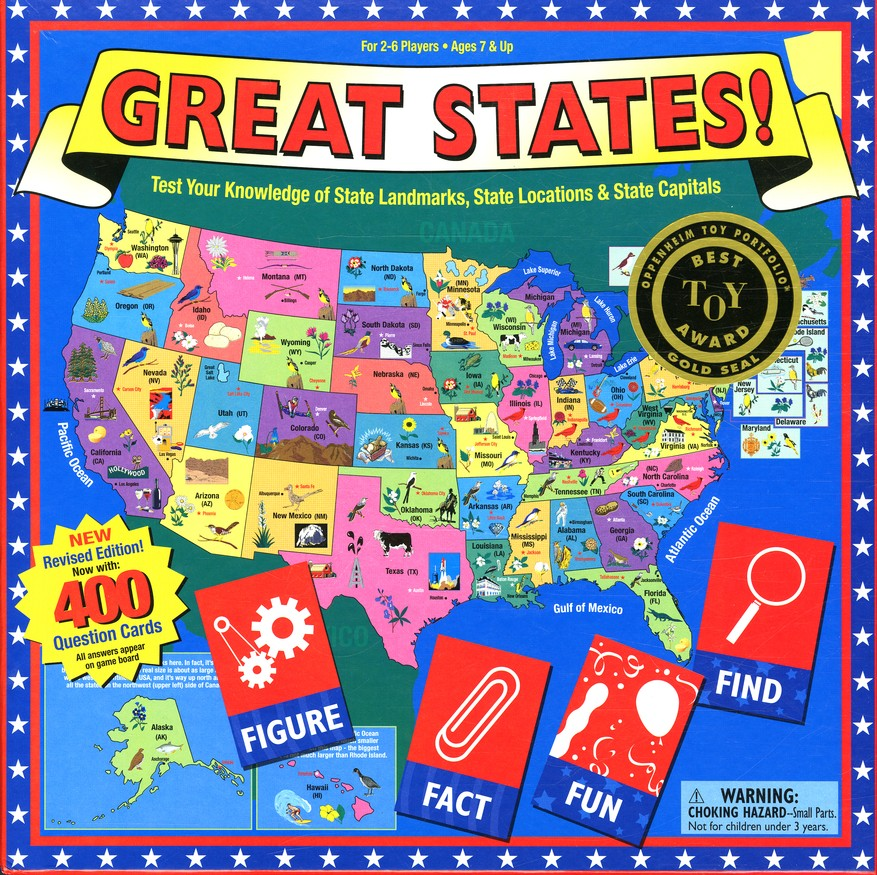 Great States! Game