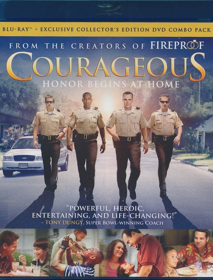 Courageous, Blu-ray/DVD Combo