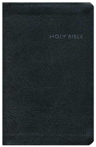 CEB Common English Bible, Compact Thin Edition - Black EcoLeather (bonded leather)