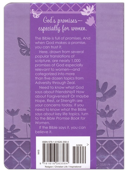 Bible Promise Book for Women, Gift Edition