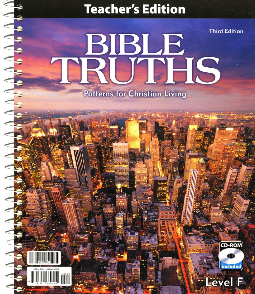 BJU Bible Truths Level F with CD-ROM (Grade 12)