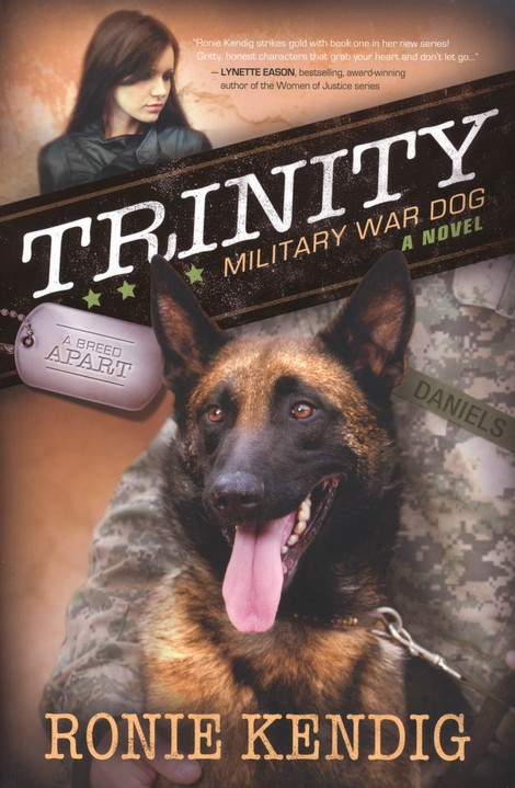 Trinity: Military War Dog, A Breed Apart Series #1