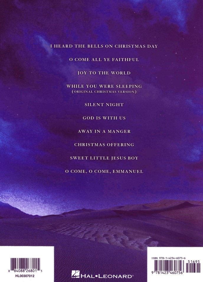 Casting Crowns: Peace on Earth, Songbook
