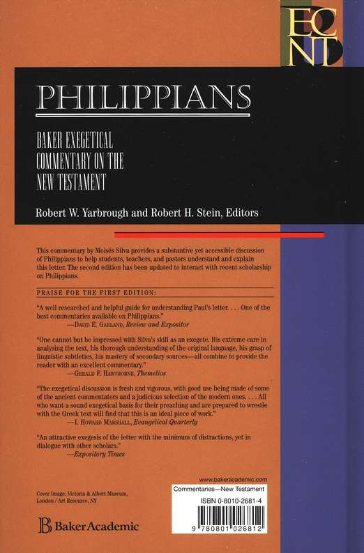 Philippians, Second Edition: Baker Exegetical Commentary on the New Testament [BECNT]