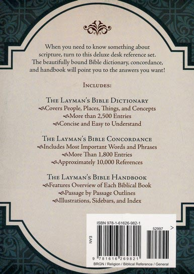 Layman's Bible Reference Desk Set