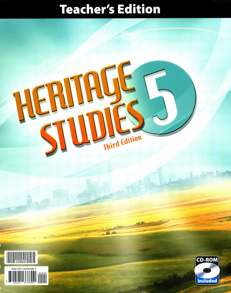 BJU Heritage Studies Grade 5 Homeschool Kit (Third Edition)