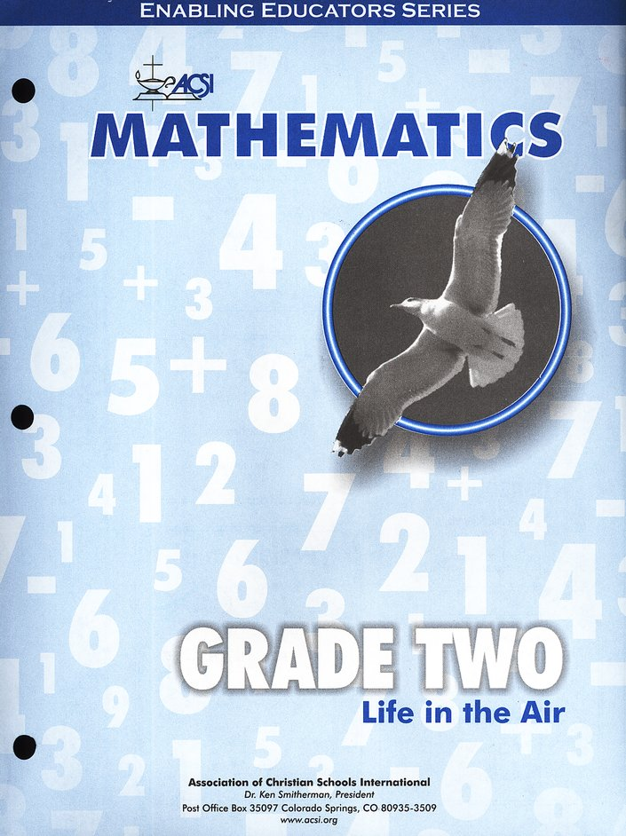 ACSI Math Teacher's Edition, Grade 2