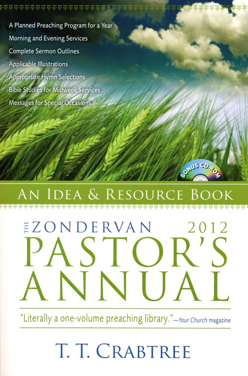 Zondervan 2012 Pastor's Annual: An Idea and Resource Book