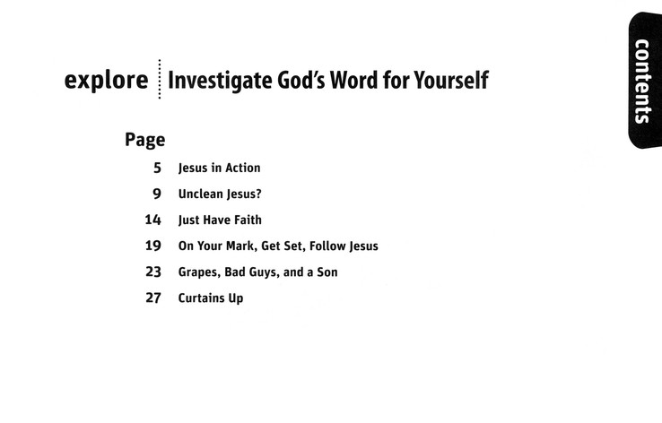 Investigate God's Word for Yourself