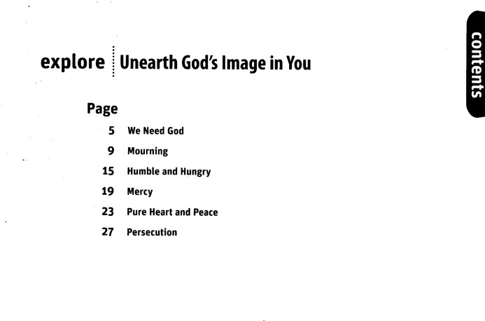 Unearth God's Image in You (Explore Student Book 7)
