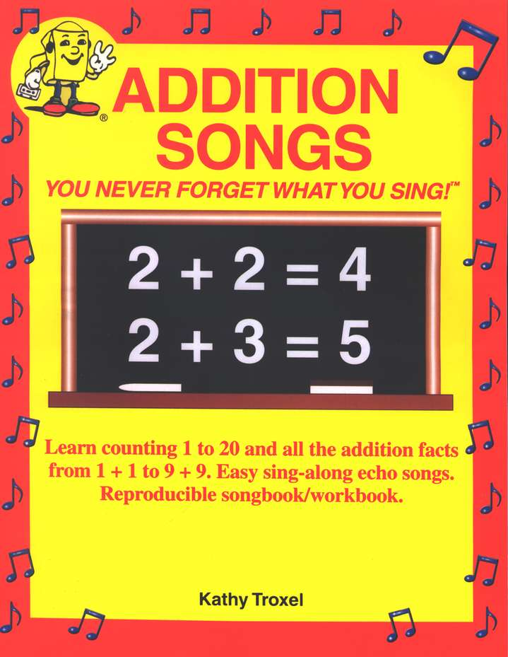 Audio Memory Addition Songs Workbook & CD Set