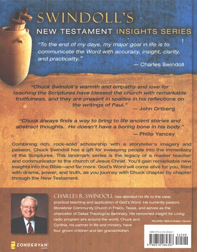 Swindoll's New Testament Insights on Romans
