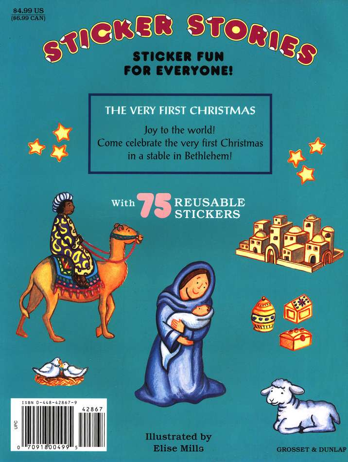 Sticker Stories: The Very First Christmas