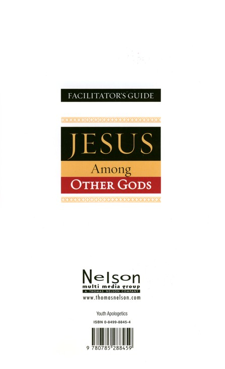 Jesus Among Other Gods, Facilitator's Guide