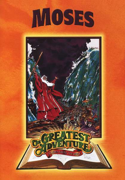 Moses, The Greatest Adventure: Stories from the Bible, on DVD