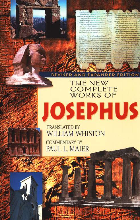 The New Complete Works of Josephus, paperback