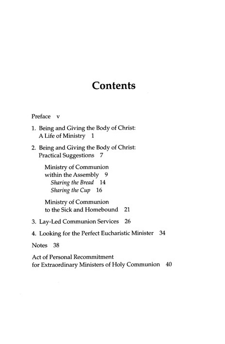 The Ministry of Communion, Second Edition