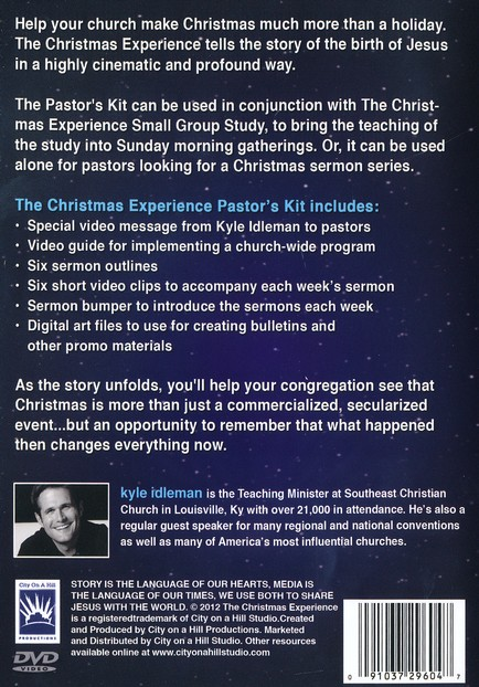 The Christmas Experience: Pastor's Kit