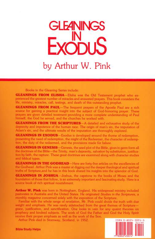Gleanings in Exodus