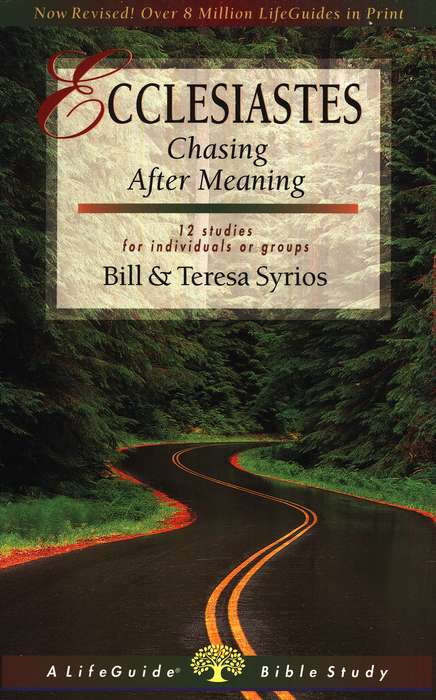 Ecclesiastes: Chasing After Meaning, LifeGuide Bible Studies