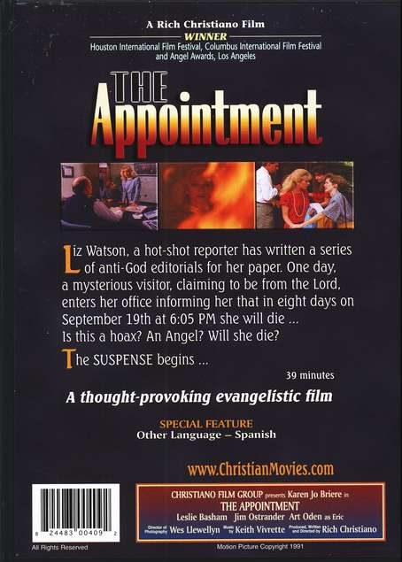 The Appointment, DVD