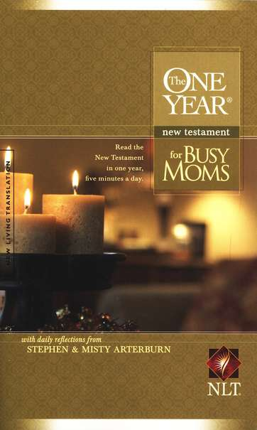 NLT One Year New Testament for Busy Moms