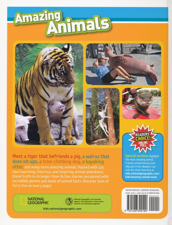 National Geographic Kids 100 Amazing Animal Stories