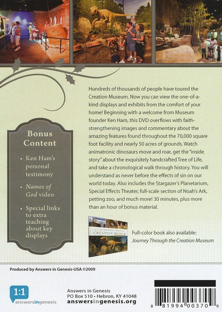 Journey Through the Creation Museum DVD
