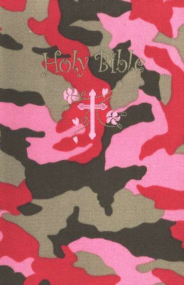 Small Hands Bible, Pink Camo, ICB