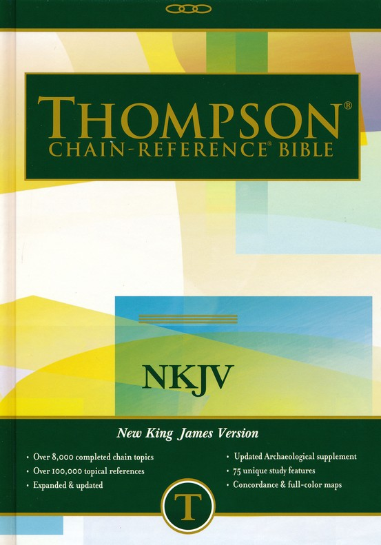 NKJV Thompson Chain-Reference Bible, Hardcover