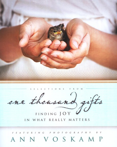 Selections from One Thousand Gifts: Finding Joy in What Really Matters