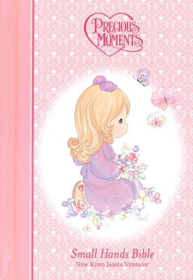 NKJV Precious Moments Holy Bible - Pink