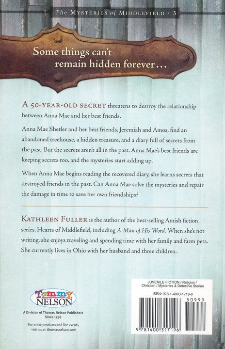 Hide and Secret, Mysteries of Middlefield Series #3