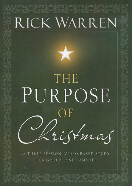 The Purpose of Christmas, DVD