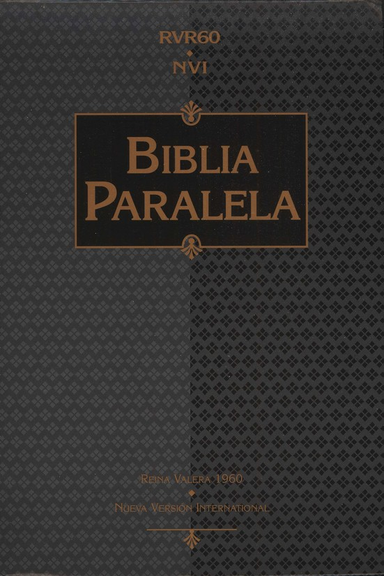 Biblia Paralela RVR60-NVI, Piel Imitada Negra  (RVR60-NVI Parallel Bible, Imit. Leather Black)