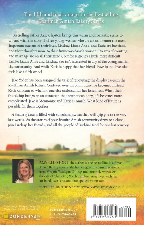 A Season of Love, Kauffman Amish Bakery Series #5