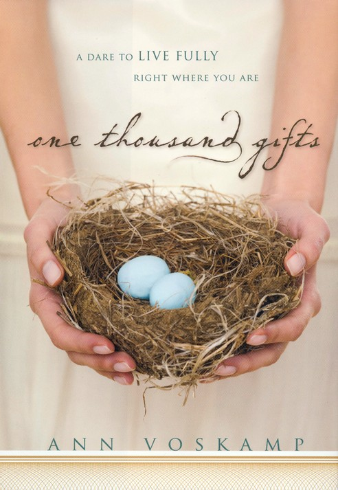 One Thousand Gifts: A Dare to Live Fully Right Where You Are - Slightly Imperfect