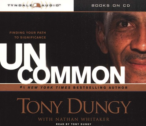 Uncommon: Finding Your Own Path to Significance, Audio CD