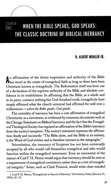 Five Views on Biblical Inerrancy
