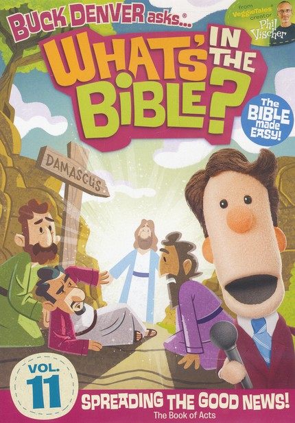 What's in the Bible? #11: Spreading the Good News! DVD