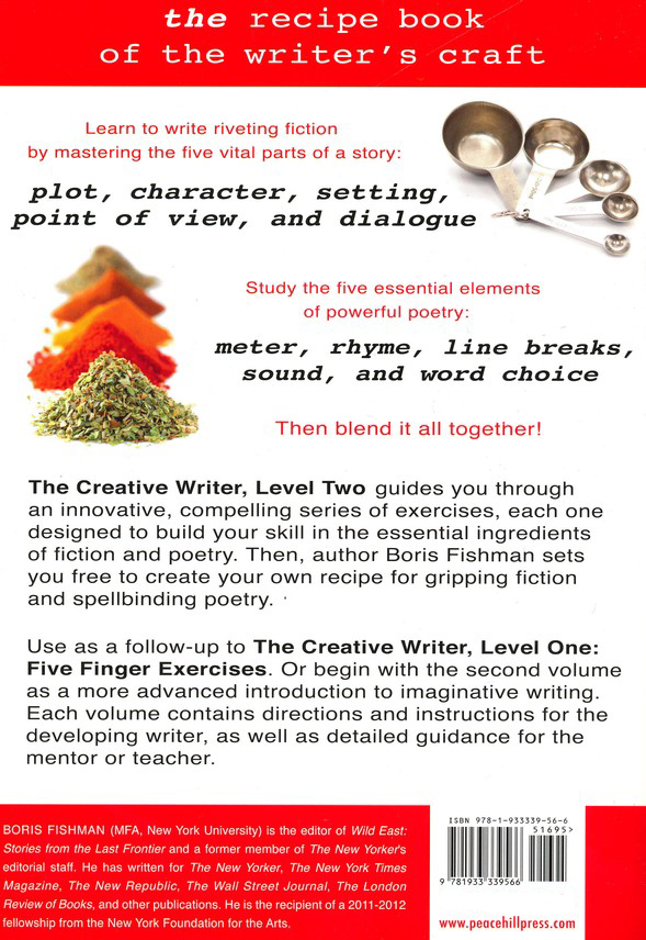 The Creative Writer, Level 2: Essential Ingredients