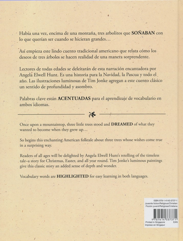 Los Tres Árboles - Bilingüe  (The Tale of Three Trees - Bilingual Ed.)