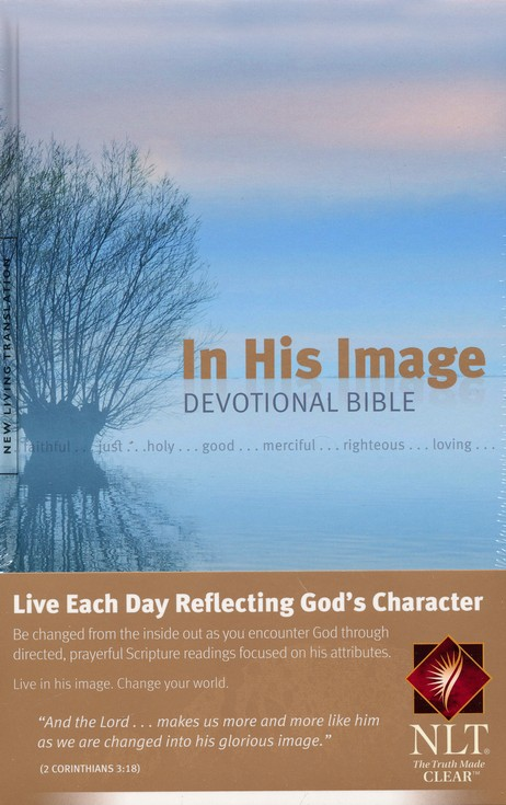 NLT In His Image Devotional Bible, Hardcover