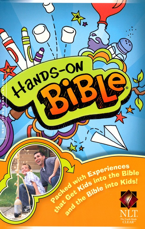NLT Hands-On Bible, Softcover