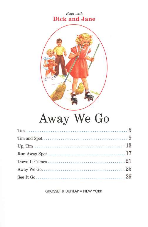 Read with Dick and Jane, Away We Go, Volume 7