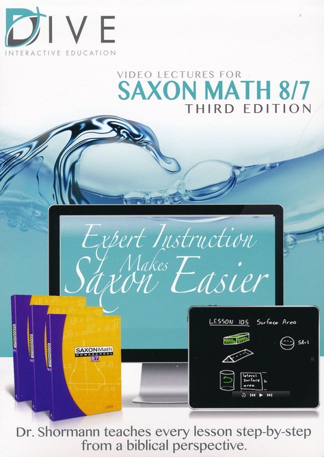 Saxon Math 87 3rd Edition DIVE CD-Rom