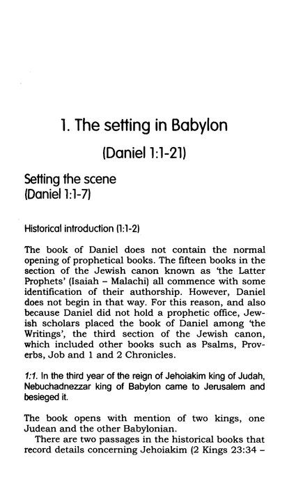 Daniel: Evangelical Press Study Commentary