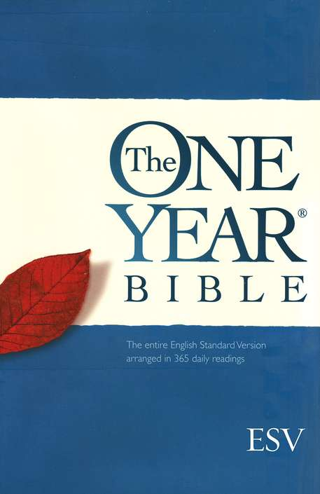 ESV One Year Bible, Hardcover