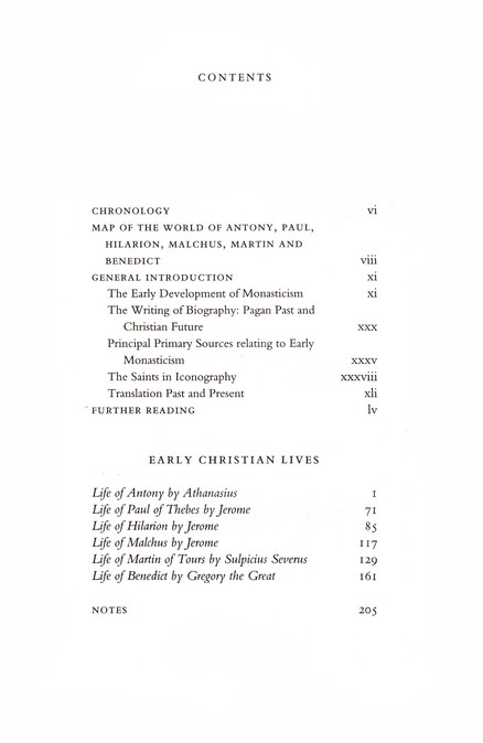 Early Christian Lives